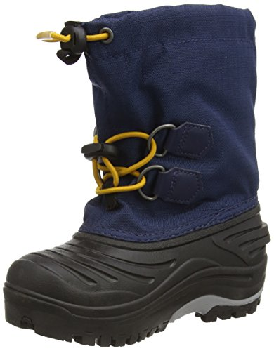 Sorel-CHILDRENS-SUPER-TROOPER-Unisex-Kinder-Warm-geftterte-Schneestiefel-Blau-Nocturnal-Gallion-591-31-EU