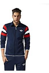 Adidas Originals Men's Trefoil FC Track Jacket-Collegiate Navy