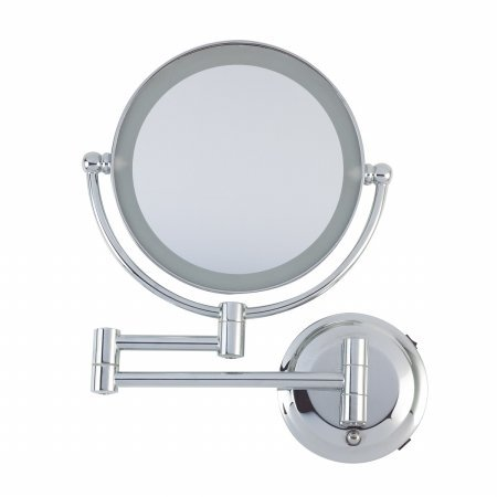 Danielle Led Wall Mount Mirror, Chrome
