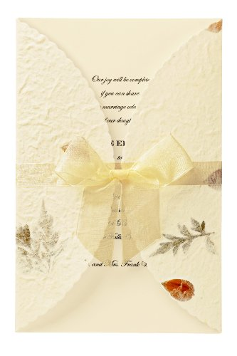 Wilton Pressed Floral Wedding Invitation Kit