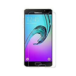 MoArmouz Go - Tempered Glass Screen Protector For Samsung Galaxy A7 Clear Glass by MoArmouz®- Anti Scratch, HD, Shock Resistance - Protect your screen from Scratches & Drops / Screen Protectors
