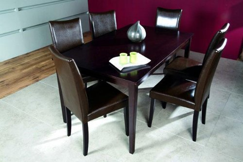 Shino Light Cappuccino 7-piece Dining Furniture
