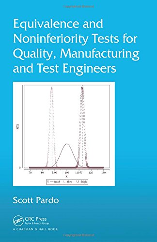 Equivalence and Noninferiority Tests for Quality, Manufacturing and Test Engineers, by Scott Pardo