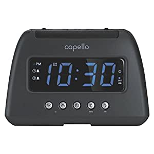 capello am fm radio alarm clock electronics. Black Bedroom Furniture Sets. Home Design Ideas