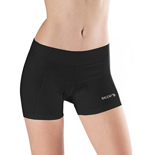 Baleaf Women's 3D Padded Cycling Brief Underwear Shorts Black Size M (Road Cycling Jersey And Shorts compare prices)