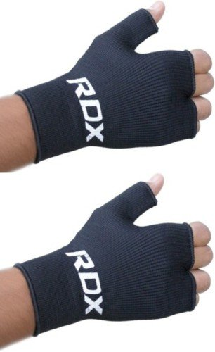 RDX Boxing Fist hand inner gloves Muay Thai Wraps Black-Size Small, Medium, Large, X-Large, Large
