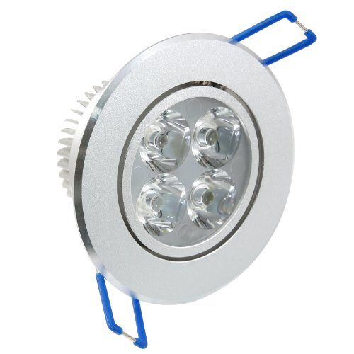 Sunsbell Dimmable 4X1W Led Light Recessed Lighting Fixtures Ceiling Down Light Lamp 4W Cool White