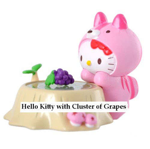 Hello Kitty with Grapes - 1