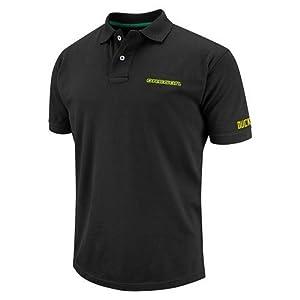 Oregon Ducks Mens Premium Polo Short Sleeve Shirt by Colosseum