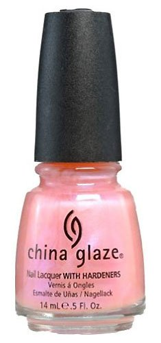China Glaze Light Pink Pearl Color With Metallic