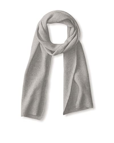 Portolano Women's Cashmere Scarf, Light Heather Grey