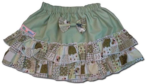 100-Cotton-Baby-RaRa-Skirt-Green-with-Green-Patchwork