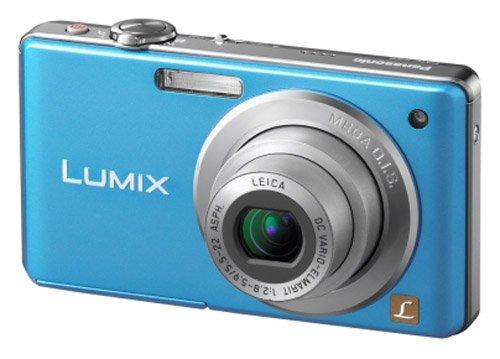 Panasonic Lumix FS6 Digital Camera - Blue (8.1MP, 4x Optical Zoom) 2.5 inch LCD