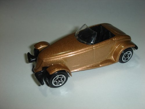 Matchbox Cool Concepts Gold Plymouth Prowler