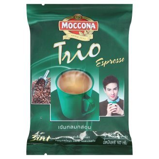 Moccona Trio 3 in 1 Espresso Instant Coffee 18g x 9 pcs - 5.71 Ounce (Pack of 2)
