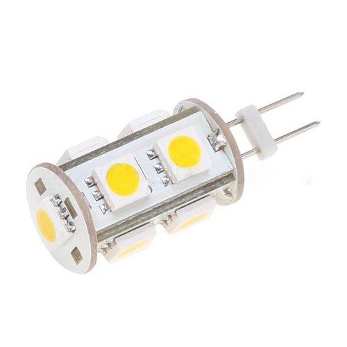 Tower Type Omni-Directional G4 Led Bulb - 12V Ac/Dc 1.8W 3200K Warm White G4 Light Bulb - 5050 Smd 9Leds For Car, Boat, Marine, Rv, Cabinet, Decorative Lighting
