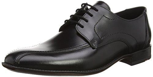 Lloyd GAMON - Zapatos Derby Hombre, Negro (Negro 0), 51 EU