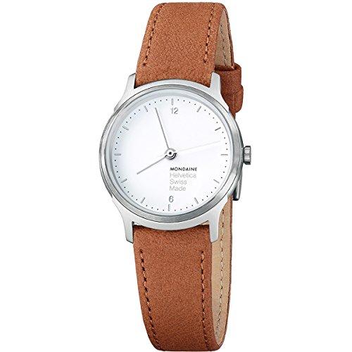 Mondaine No 1 Light MH1.L1110.LG Reloj de Pulsera para hombres Clásico & sencillo