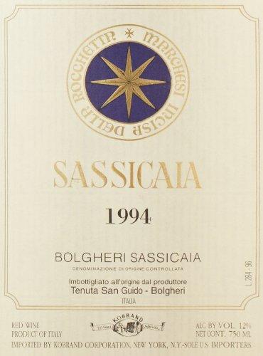 1994 Tenuta San Guido Sassicaia 750 Ml