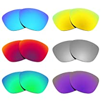 Revant Replacement Lenses for Oakley Frogskins Polarized 6 Pair Combo Pack P19
