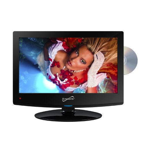 """Supersonic Sc-1512 15"""" Class Led Hdtv With Built-In Dvd Player"""