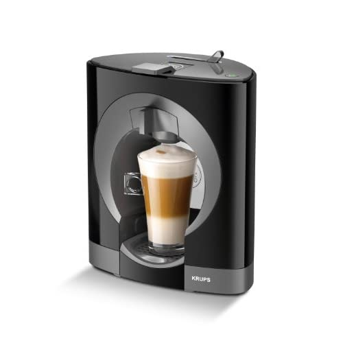 NESCAFÉ Dolce Gusto Oblo Coffee Capsule Machine by Krups - Black