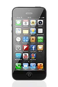 Apple iPhone 5 Smartphone (4 Zoll (10,2 cm) Touch-Display, 16 GB Speicher, iOS 6) schwarz