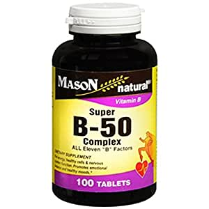 Best time to take b complex tablets
