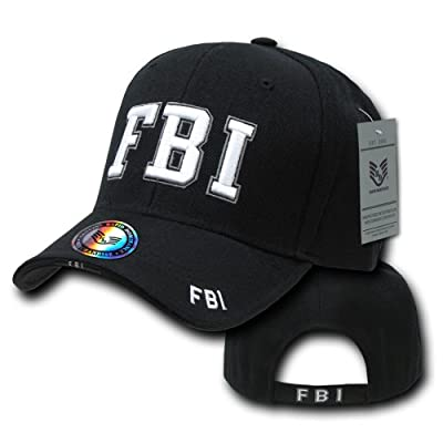Rapid Dominance Unisex Adult Deluxe Embroidered Law Enforcement Caps - FBI
