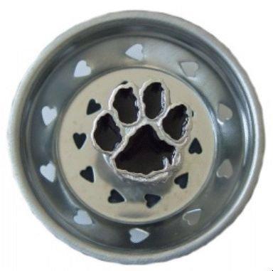 Dog Cat Paw Kitchen Sink Strainer Drain Decor
