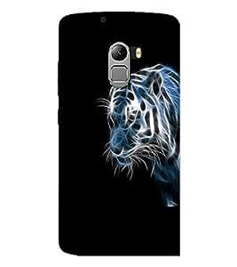 Printdhaba Digital Tiger D-2207 Back Case Cover For Lenovo K4 Note A7010