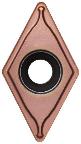Sandvik Coromant TR-DC1308-M 1025 GC1025 Grade, PVD Coated, 55 Degree Diamond Shape, M Chip Breaker, 1308 Insert Size, 0.2175