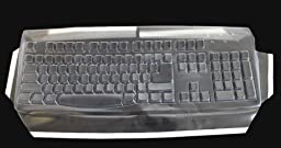 Keyboard Cover for Arabic, Russian, Hebrew, Farsi and Chinese Simply Plugo Keyboards - Protect From Dirt, Dust, Liquids and Contaminants (Keyboard NOT Included)