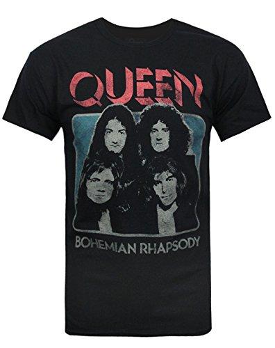 official-mens-queen-bohemian-rhapsody-t-shirt-large-black