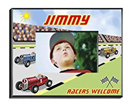 Personalized Race Car Driver Picture Frame