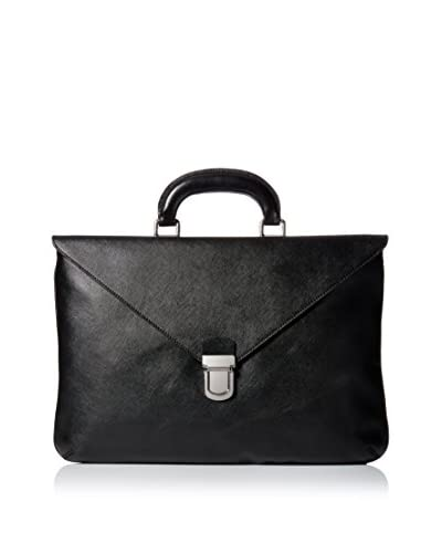 GIORGIO ARMANI Men's Briefcase Bag, Black