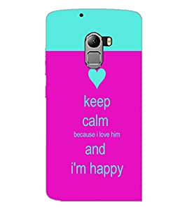 PrintDhaba Quote D-2629 Back Case Cover for LENOVO K4 NOTE A7010a48 (Multi-Coloured)