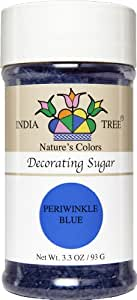 India Tree Nature's Colors Decorating Sugars - Periwinkle Blue