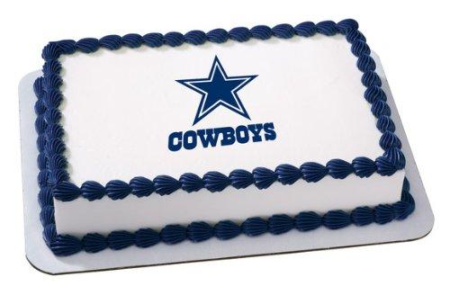 NFL Dallas Cowboys ~ Edible Cake Image Topper