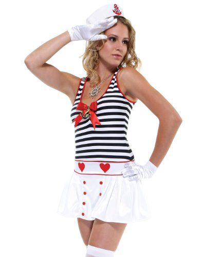 Forplay Women's All Hands On Deck Adult Sized Costumes