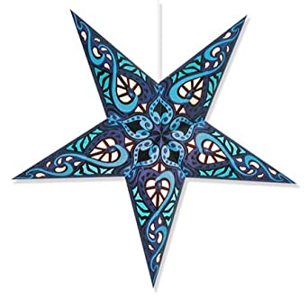 Celtic Blue Star Lantern