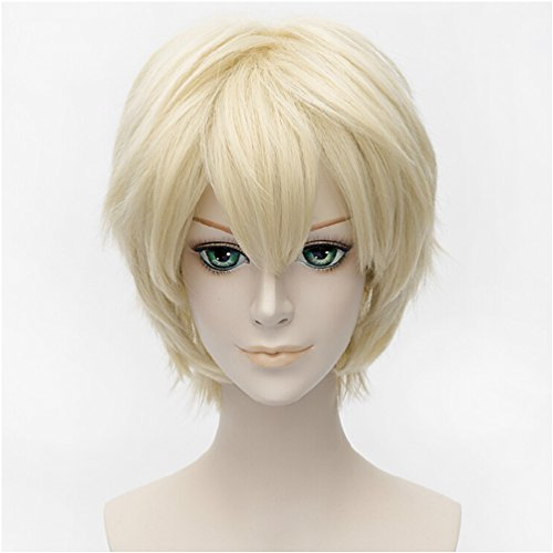 Short Cosplay Wigs Blonde