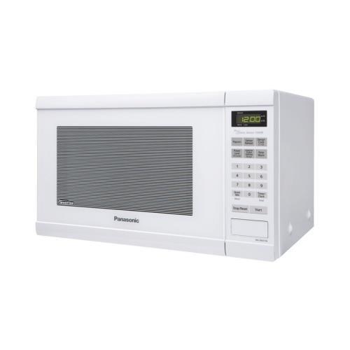 Panasonic Nnsn651W Panasonic Nnsn651W White Microwave Countertop 1.2Cf 1200W