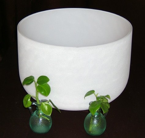 Quartz Crystal Singing Bowl Root Chakra - 14