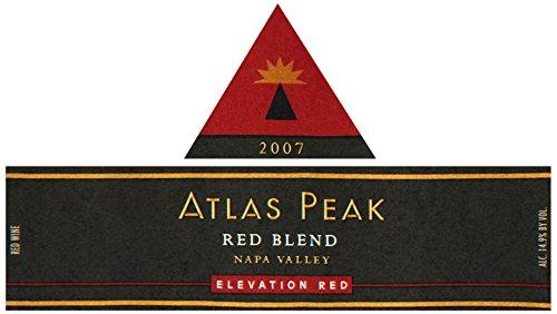 2007 Atlas Peak Elevation Red, Atlas Peak Mtn 750 Ml
