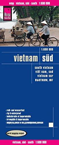 Vietnam sur, mapa impermeable de carreteras. Escala 1:600.000 impermeable. Reise Know-How. (Reise Know-How Verlag)