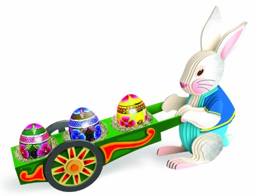 Trussart Designs Easter Rabbit with Wheelbarrow 3D Modeling Kit - 1