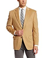 Palm Beach Men's Cotter Camel Hair Sport Coat