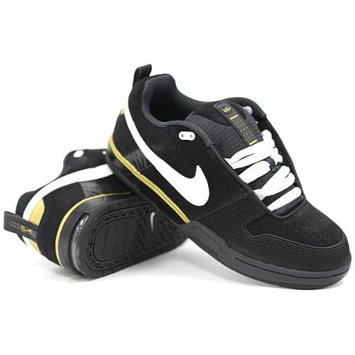 Amazon.com: Nike 6.0 Air Insurgent (Black/White/Metallic Gold) Mens