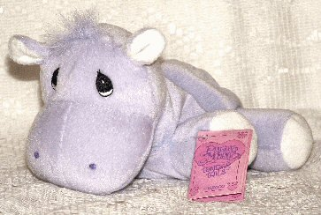 Tender Tails Hippo by Enesco Precious Moments